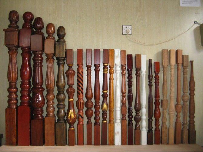 南京实木立柱-盛发楼梯-楼梯扶手图片