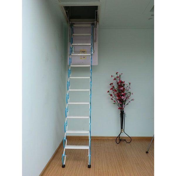 南京伸缩楼梯-南京盛发楼梯
