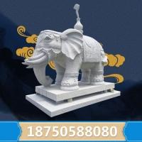惠安石雕大象石雕大象價格石大象圖片戶外石雕風水大象擺件