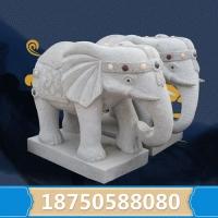 惠安制作石雕大象  造型规格尺寸丰富多样