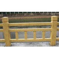 保定水泥仿木护栏