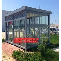 岗亭,吸烟亭,室外吸烟亭,不锈钢吸烟亭,吸烟亭图片