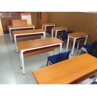 单人加长学生电脑桌-学生电脑桌供应-培荣家具