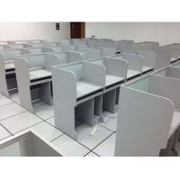 PR机房学生电脑桌-学生电脑桌供应-培荣家具