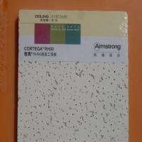 阿姆斯壮毛毛虫矿棉板雅隽16mm厚RH90吸音天花板