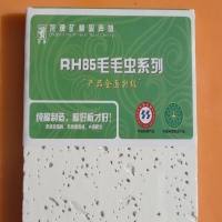 龙牌毛毛虫矿棉板600x600x12mm RH85吸音板