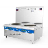 喜德力电磁双头平头炉 XDL-P420II 喜德力商用电磁炉