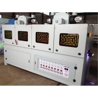 木工机械_八灯固化机_圆棒木线条1-6面干燥uv固化机