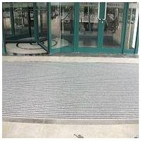 旋转门防尘毯 酒店超市地垫 铝合金地垫 铝合金门口除尘垫 防
