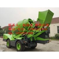 自动搅拌机 自动上料搅拌运输车 自装卸水泥运输车