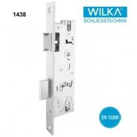 德国WILKA型材门双舌窄锁体1438