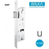 德国WILKA型材门单斜舌防火窄锁体638F