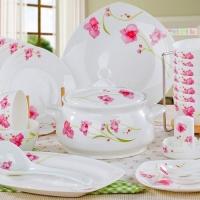 陶瓷餐具套装 骨瓷餐具碗盘