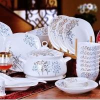 礼品陶瓷餐具碗盘 酒店陶瓷餐具