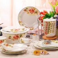 陶瓷餐具套装 骨瓷餐具 碗碟套装