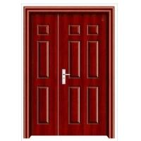 成都新申达木业红拼钢木套装子母入户门