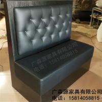 餐厅沙发卡座定做 餐厅卡座沙发定制 定制餐厅卡座沙发