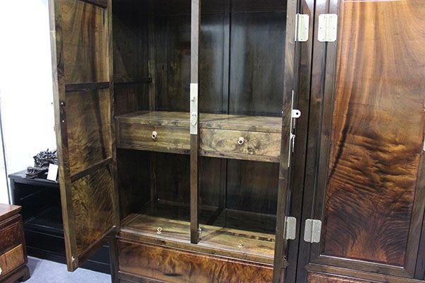 明式顶箱柜金丝楠木家具