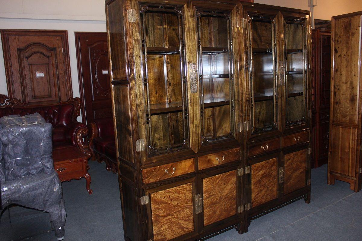 古典家具金丝楠木书柜