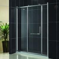 整体卫生间淋浴屏 新款移门淋浴房 铝合金推拉门