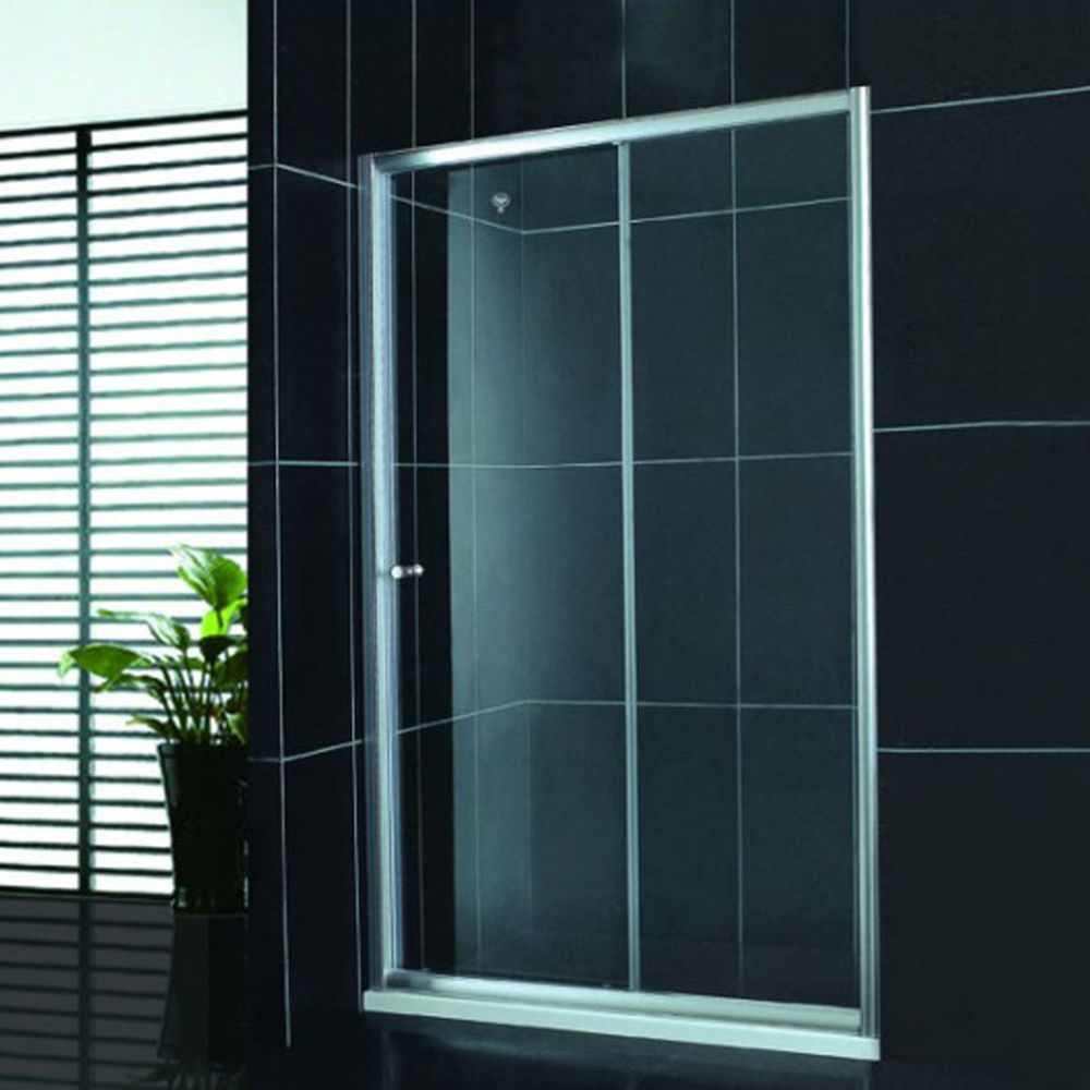 酒店移门式简易淋浴房 屏风形钢化玻璃浴室 整体卫浴淋浴房
