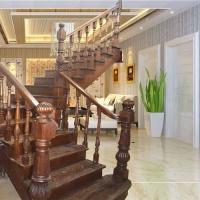 南京实木楼梯-南京华艺楼梯