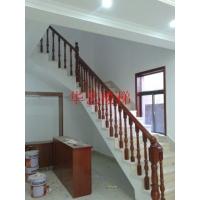 實木樓梯鋼木樓梯鐵藝樓玻璃樓梯水泥基礎樓梯