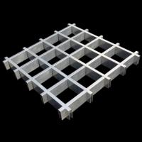 H型铝格栅天花吊顶规格参考