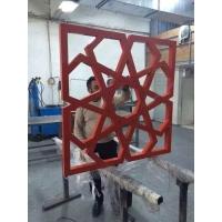 广州木纹铝合金仿古型材铝格栅窗花生产厂家