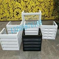 铝合金百叶空调罩、铝合金做的空调保护装置