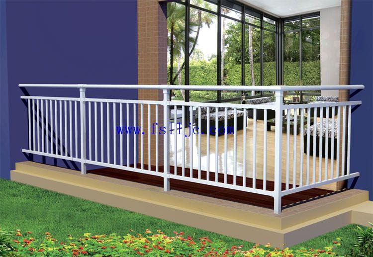 铝合金阳台栏杆, 组装 式护栏 型材 ,玻璃阳台护栏
