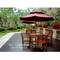 室外木桌椅、庭院休闲桌椅