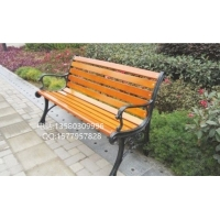 园艺休闲座椅、园林金属长椅、户外园林椅