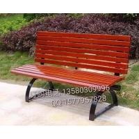 公園休閑凳,鋼木靠背椅,成品座椅