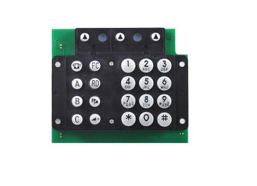 加油机门禁电梯锌合金金属键盘 电话机按键 键盘 工业应用设备
