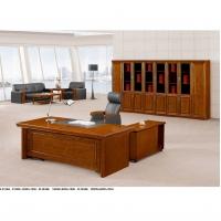 西安雅凡办公家具实木办公桌大班台