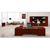 西安办公家具雅凡家具实木班台经理桌整体家具
