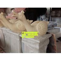 人造砂岩雕塑 动物 雕塑小品价格 园林景观喷泉图片 长沙砂岩