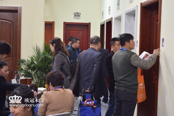 2015年北京木门展  欧冠木门参展场景图10