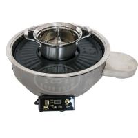 亚卫烤涮一体炉涮烤一体锅420D鸳鸯涮锅系列