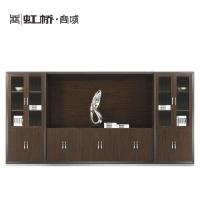 虹桥家具板式 储物 文件柜  老板屏风文件柜 总裁办公室文件