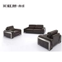 虹桥高档招待组合沙发 商务办公家具 经理室沙发 会客沙发