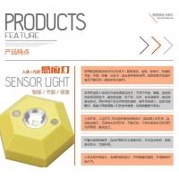 LED感应吸顶灯 LED红外感应吸顶灯 人体感应吸顶灯 智能