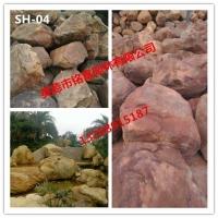 优质黄蜡石 草地景观用石 园林假山黄蜡石