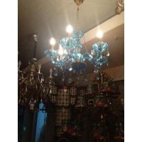 咖啡厅吊灯、欧式铁艺灯、现代简欧水晶灯