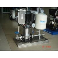 格兰富立式管道增压泵自动控制CR5-8变频控制系统