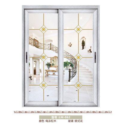 南京移门-龙脉门业-80银弧推拉吊趟门系列