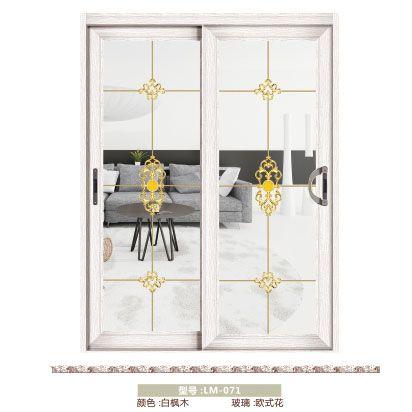 南京移门-龙脉门业-70银弧推拉吊趟门系列