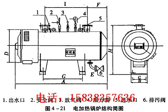 0.7吨电加热蒸汽锅炉