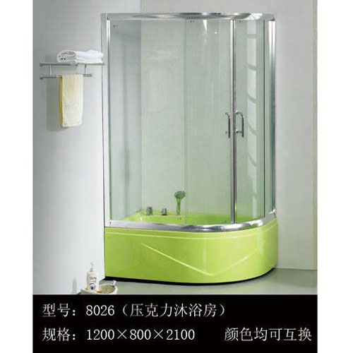 洁仕高卫浴-淋浴房系列8026(压克力淋浴房)